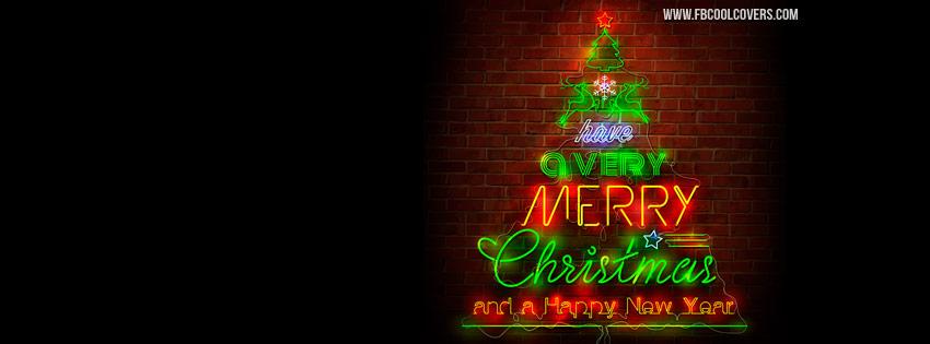 Happy Merry Chrismas FB Cover