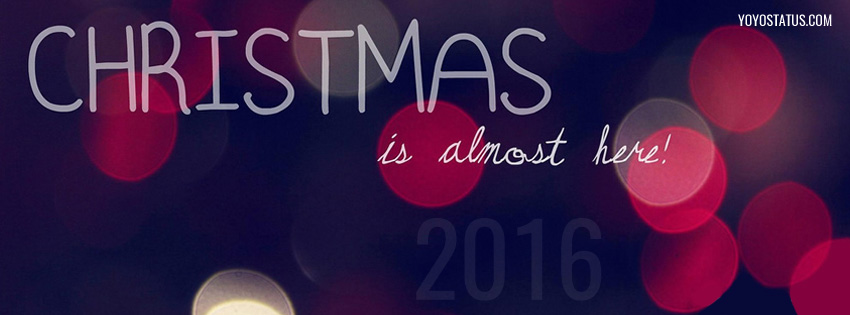 christmas is here coming fb cover photo