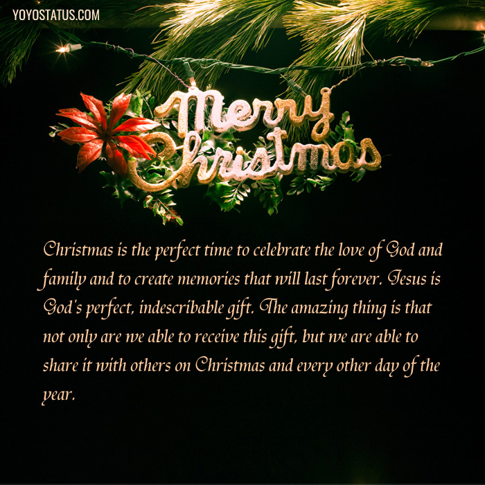 Merry Christmas Quotes Greeting Card
