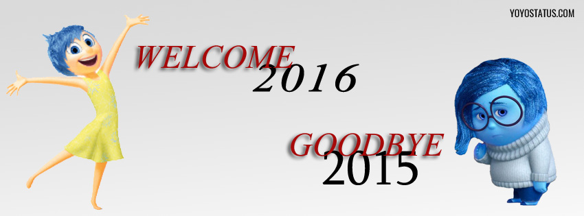 Welcome 2016 Goodbye 2015 facebook cover photo