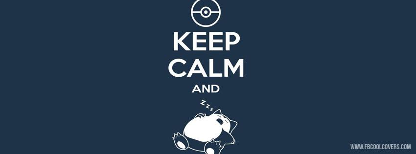 Keep Calm Facebook Cover
