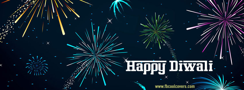 Fireworks Diwali Facebook Covers