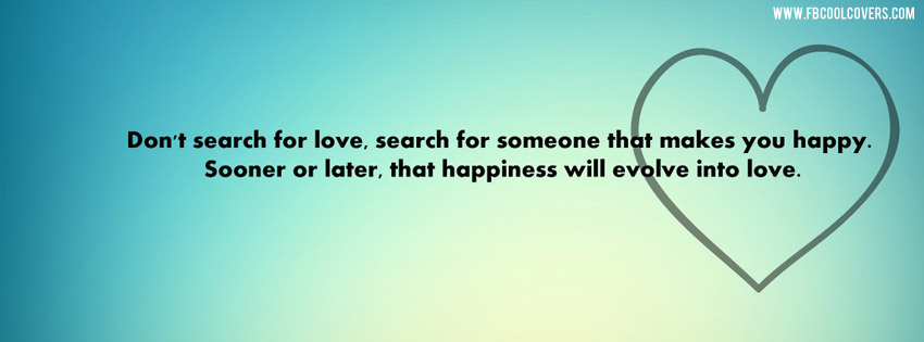 Dont Search For Love