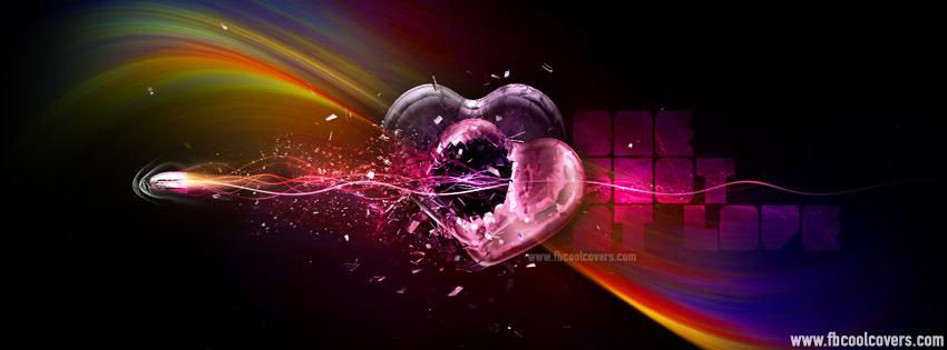 Abtsract Heart Facebook Cover