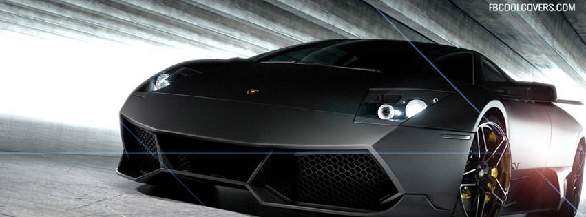 Black Lamborghini Timeline Cover