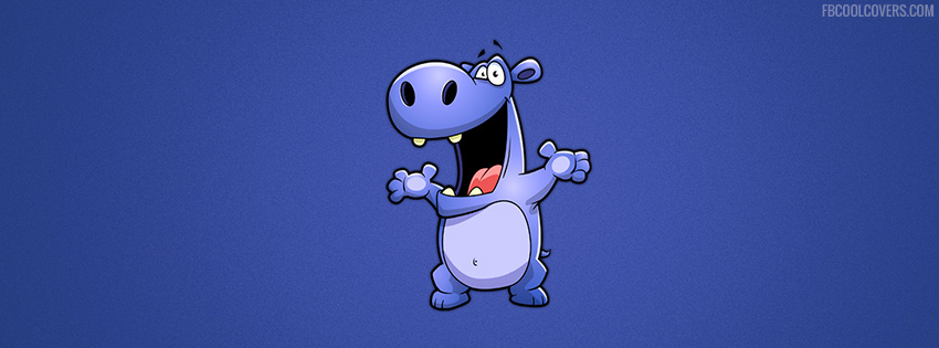 Funny Hippo Fb Cover