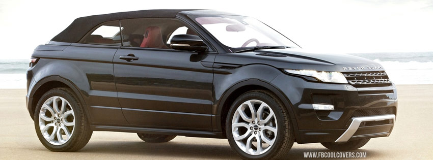 Black Range Rover FB Cover