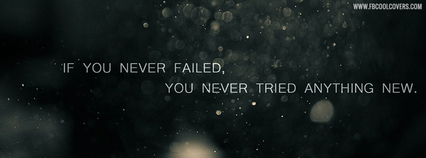If You Never Failed