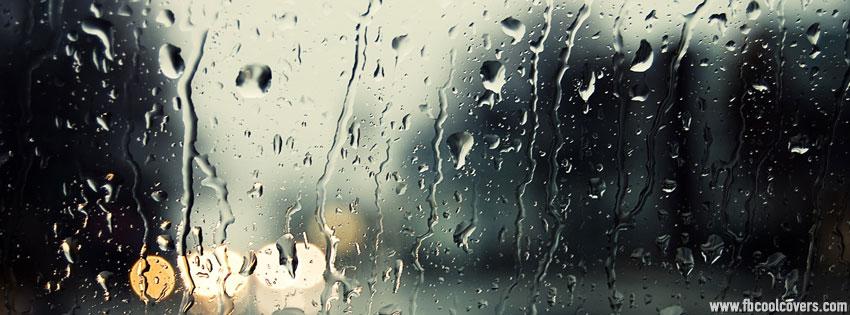 Rainy Season Drops Fb Cover , Water Drops Facebook Cover