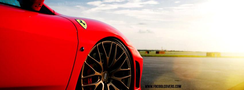 Red Ferrari Facebook Timeline Cover