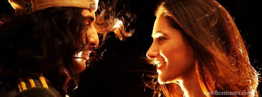 Rockstar Ranbir Kapoor Nargis FB COVER