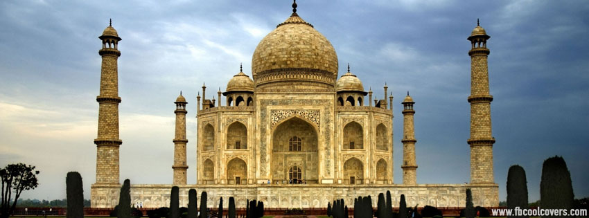 Taj Mahal FB Cover , Love Token Facebook Cover Pic