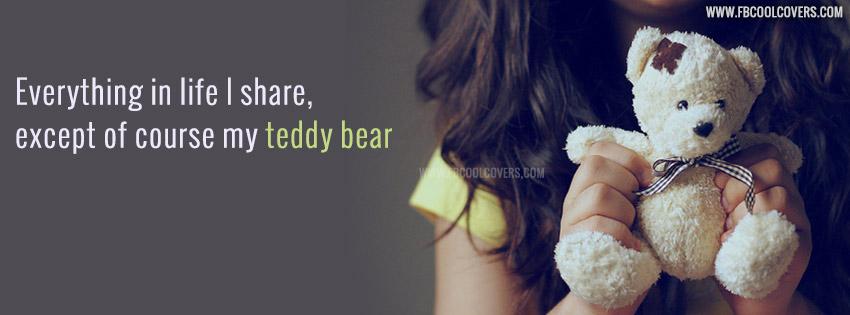 Teddy Bear Facebook Cover