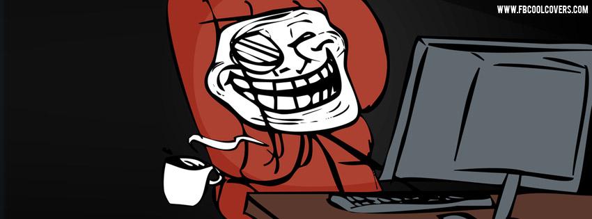 Troll Face Cofee