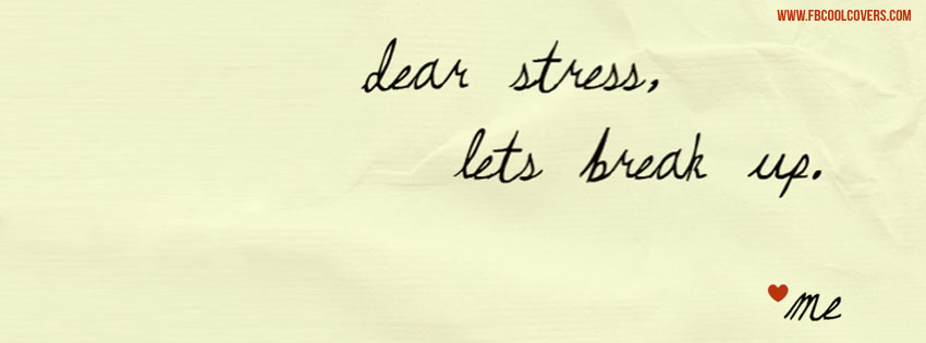 Stress Break Love Cover