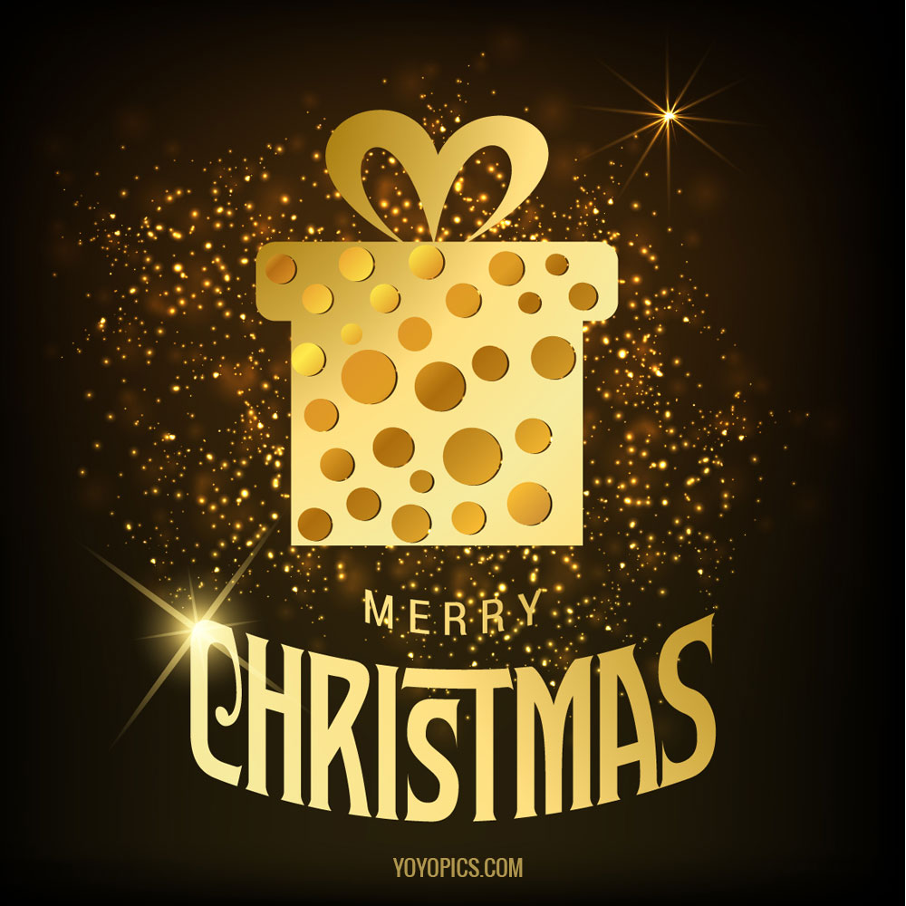 Merry-christmas-background-with-golden-gift-box