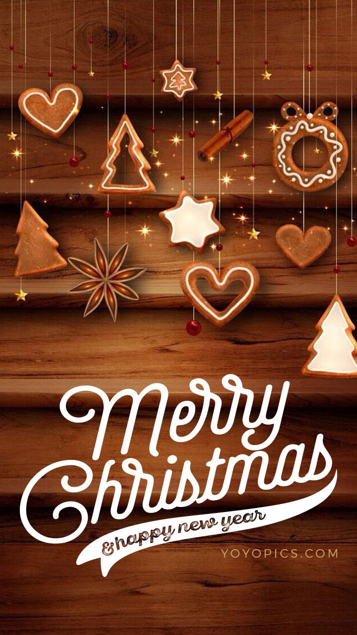 Elegant Wooden Background Christmas Wishes Whatsapp Snapchat Story